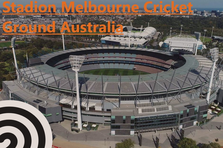 Stadion Melbourne Cricket Ground Australia